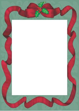 Studio Vertical Christmas Cards Beautiful Border