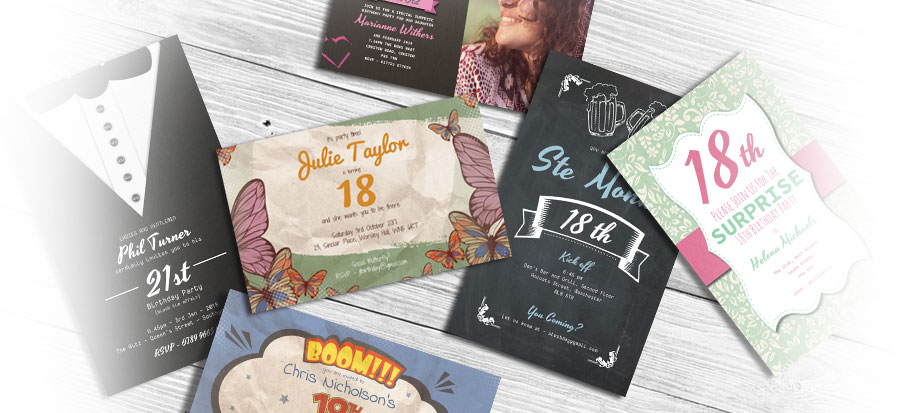 personalised cheap party invitations create custom invites online