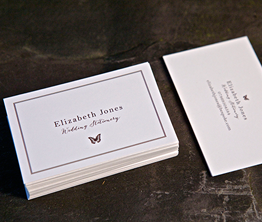 Business cards from 399 123print uk recycled reheart Image collections