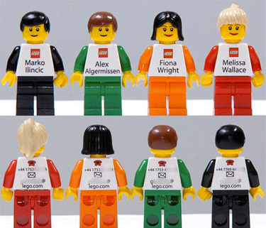 LEGO People Business Card
