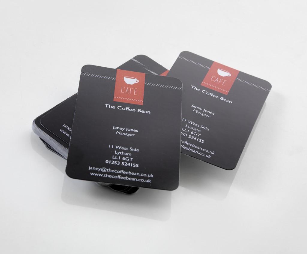 Business Card Clear Print