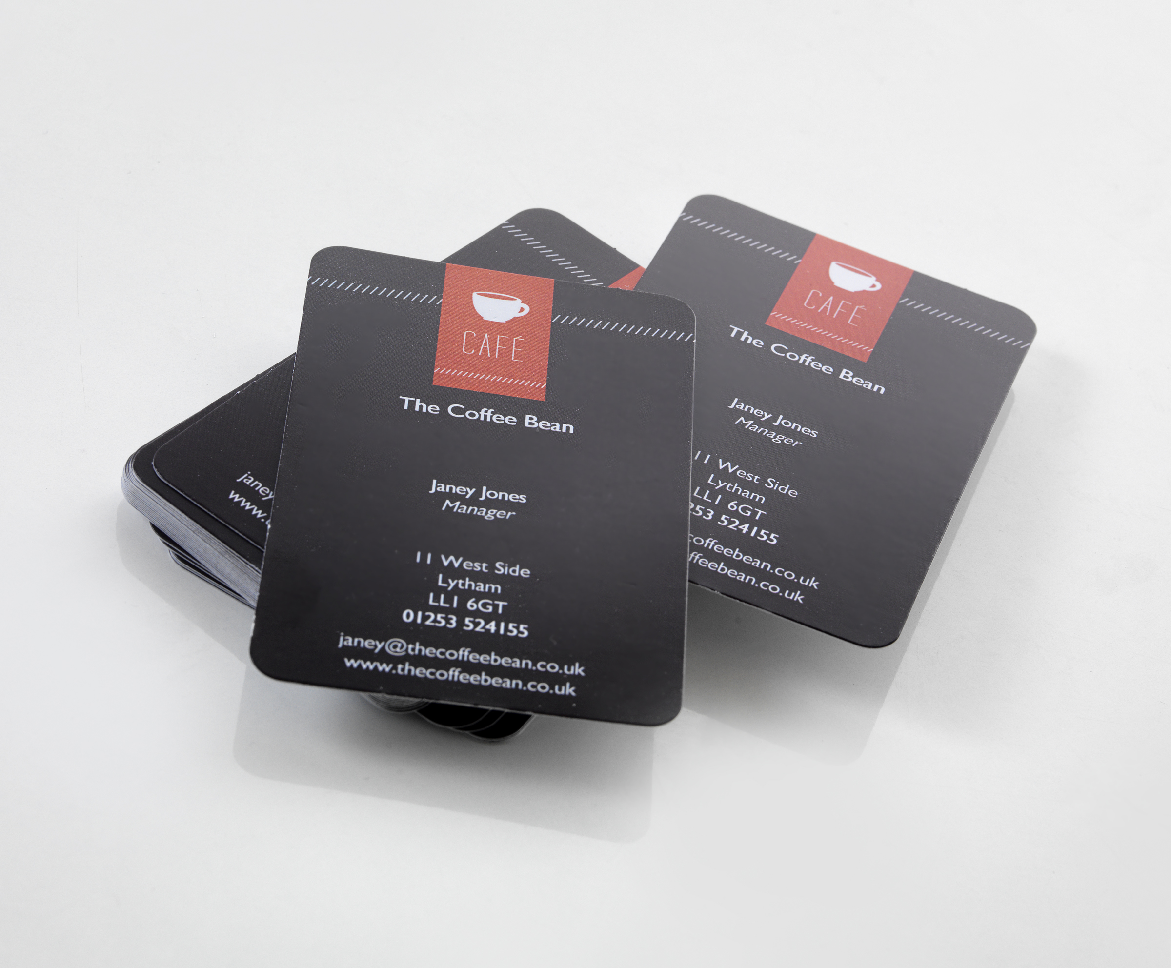 Business Card Clear Print