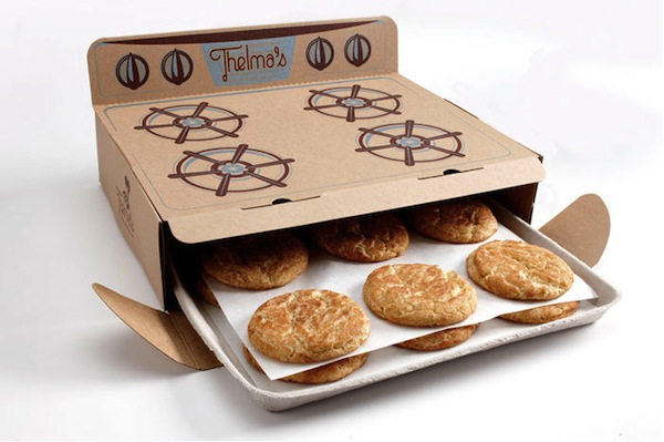 Creative Cookie Box Packaging