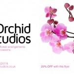 Orchid Studios Flyer