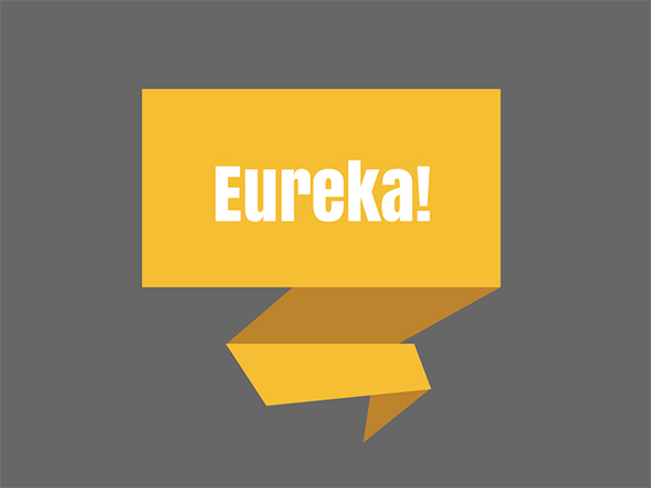 eureka momement blog