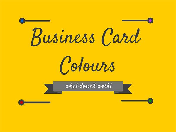 Business Card Colours