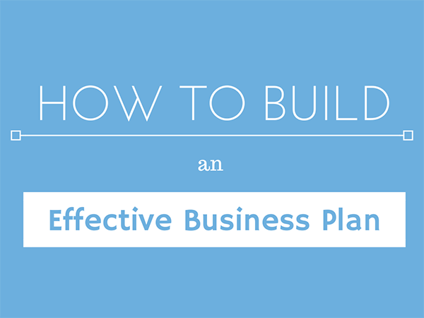 how to build an effective business plan