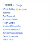 Twitter - Trends