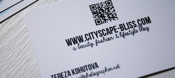 QR code business cards