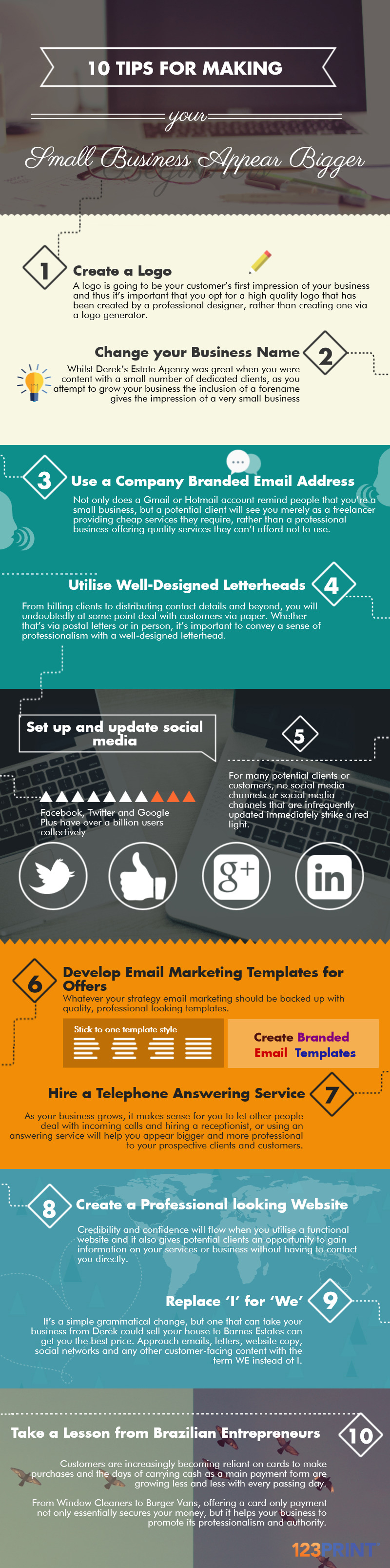10 Tips Infographic