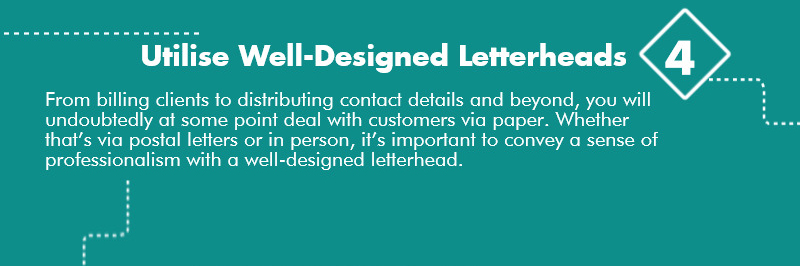 Utilise Well Designed Letterhead