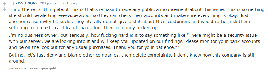 Complaint