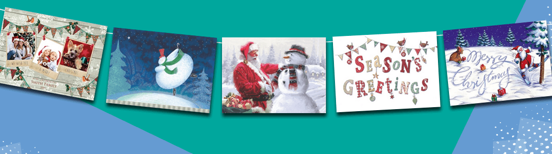 personalised christmas cards uk 123print uk - Cheap Christmas Photo Cards
