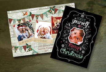 Photo Upload Christmas Cards