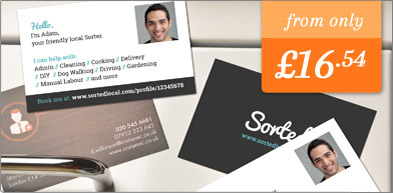 SortedLocal Magnetic Business Cards